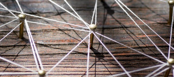 Thread connecting nails