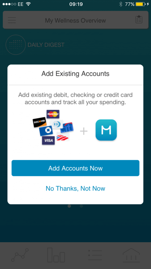 Moven UK Account Aggregation