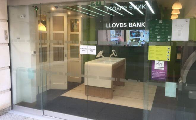 Lloyds micro bank branches