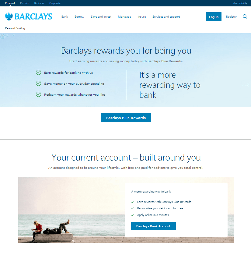 Barclays Blue Rewards