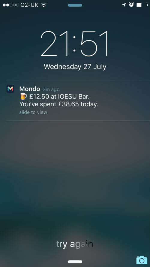 Mondo Push Notification