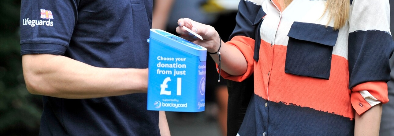 Barclaycard contactless charity