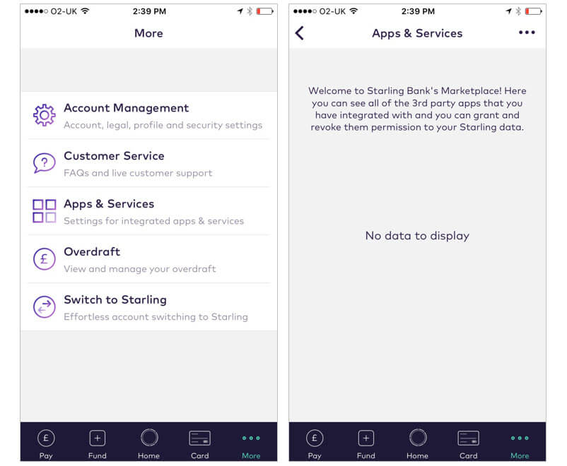Starling App Services