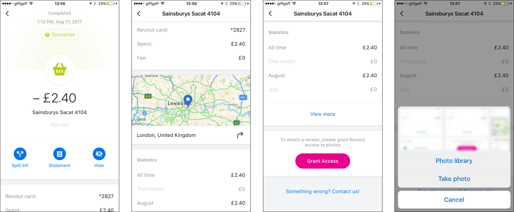 Revolut Transaction Details